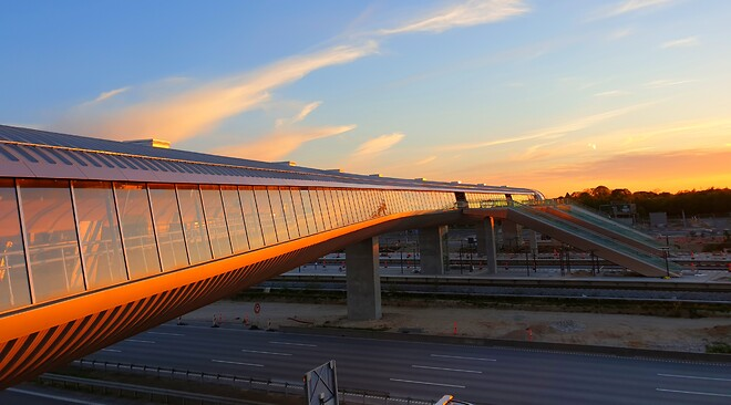 Køge Nord Station Bladt Industries Bro