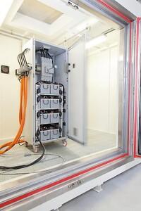 Brandsikker container til lithiumbatterier