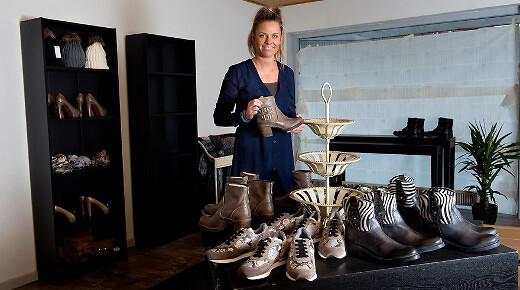3b176688665 Malene Poulsen åbner butik Lapaz torsdag 20. november. Foto/Lars Pauli,  NORDJYSKE.