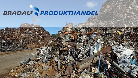 Bradals Produkthandel køber og sælger alle former for jern og metal.