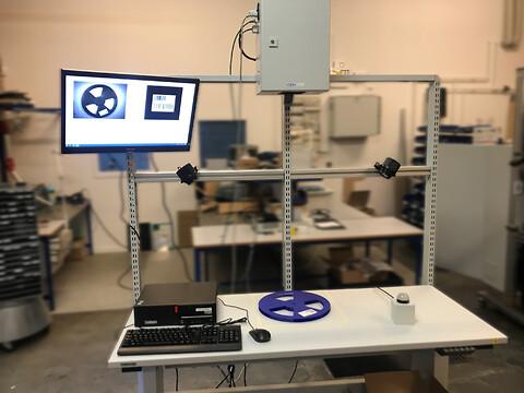 SMD-ruller vision system