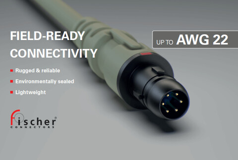 RODAN - NY konnektor fra Fischer Connectors, Ultimate™ 80