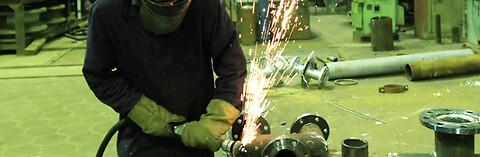 KB Stålindustri tilbyr industrirørlegging