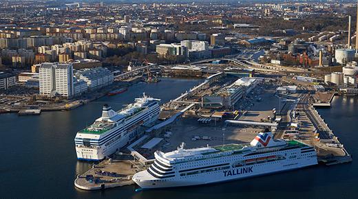 Klartecken for hamn i norvik