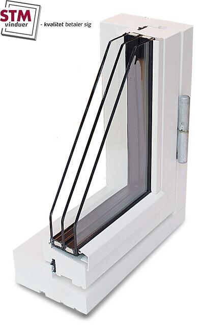Vinduer / Døre i Fyrretræ (SAPINO A) fra STM VInduer