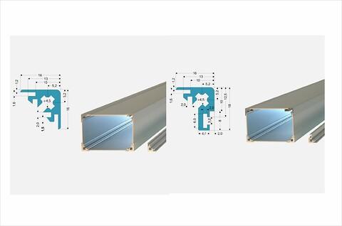 Profiler för elektronikhöljen och lådor - profiler \nelektronik\nchassi\nkapsling\nlåda\nkonstruktion