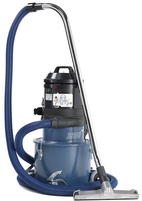 Dustcontrols mobile støvsuger DC 1800 eco - 10 kg ren arbejdsglæde