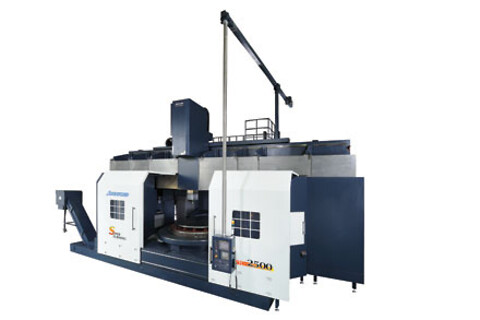 JOHNFORD CNC produktionsdrejebænke, VTC serie - vertikaldrejebænke.
