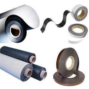 magnetband, magnettejp, selvklæbende magnetband, magnetfolie, magnetpapper