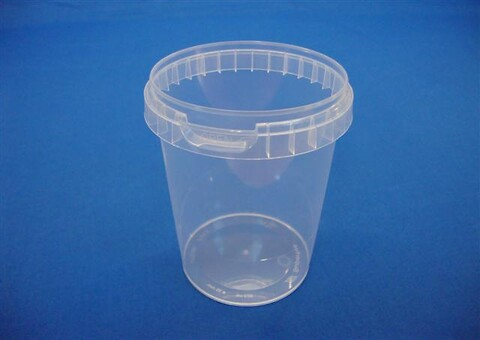 Plastbøtte 5012 - 520 ml. - klar