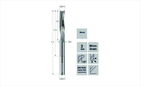DATRON Fräsverktyg för PU skum / End mill for PU foam  - DATRON \nFræser \nPU skum\nEnd Mill \nPU foam \nskumfräsverktyg\nfräsverktyg \nför skum