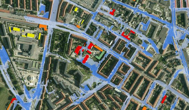 Cowi Vurderer Oversvommelsesrisiko For 2 257 Bygninger Building