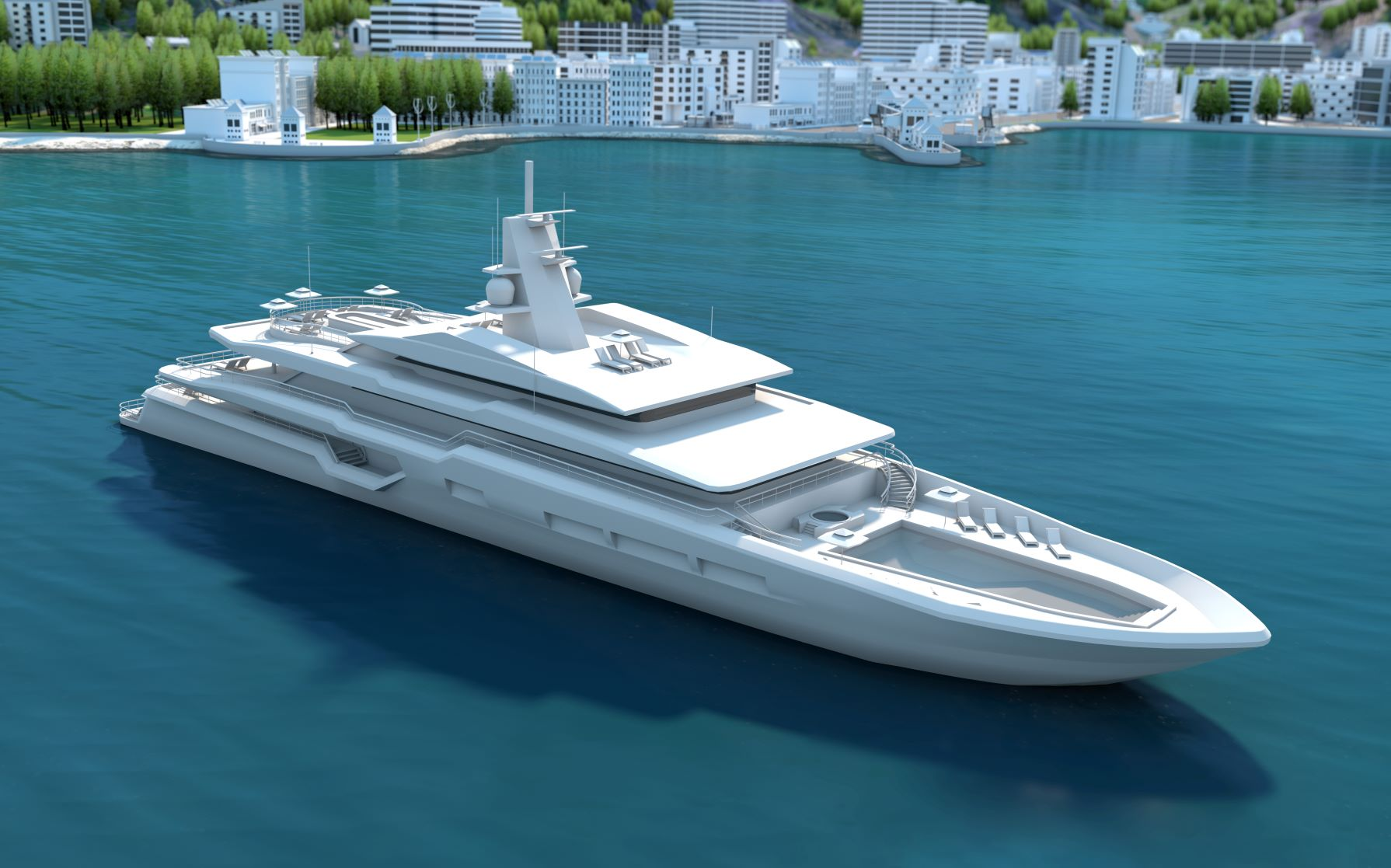 Azipod® electric propulsion for eco-friendly superyacht