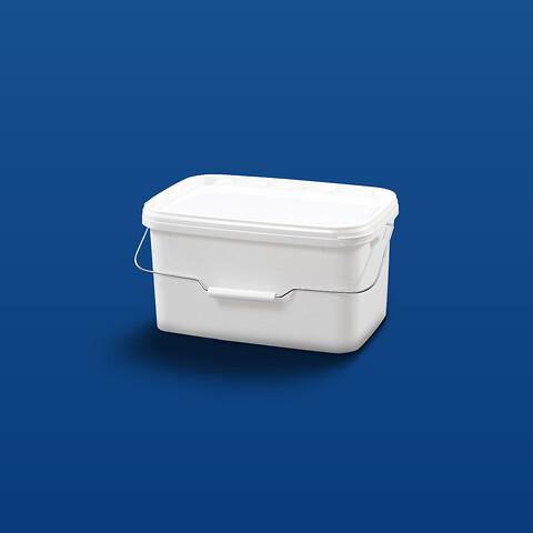 Plastspand ERE5700 - 5,8 l. - hvid