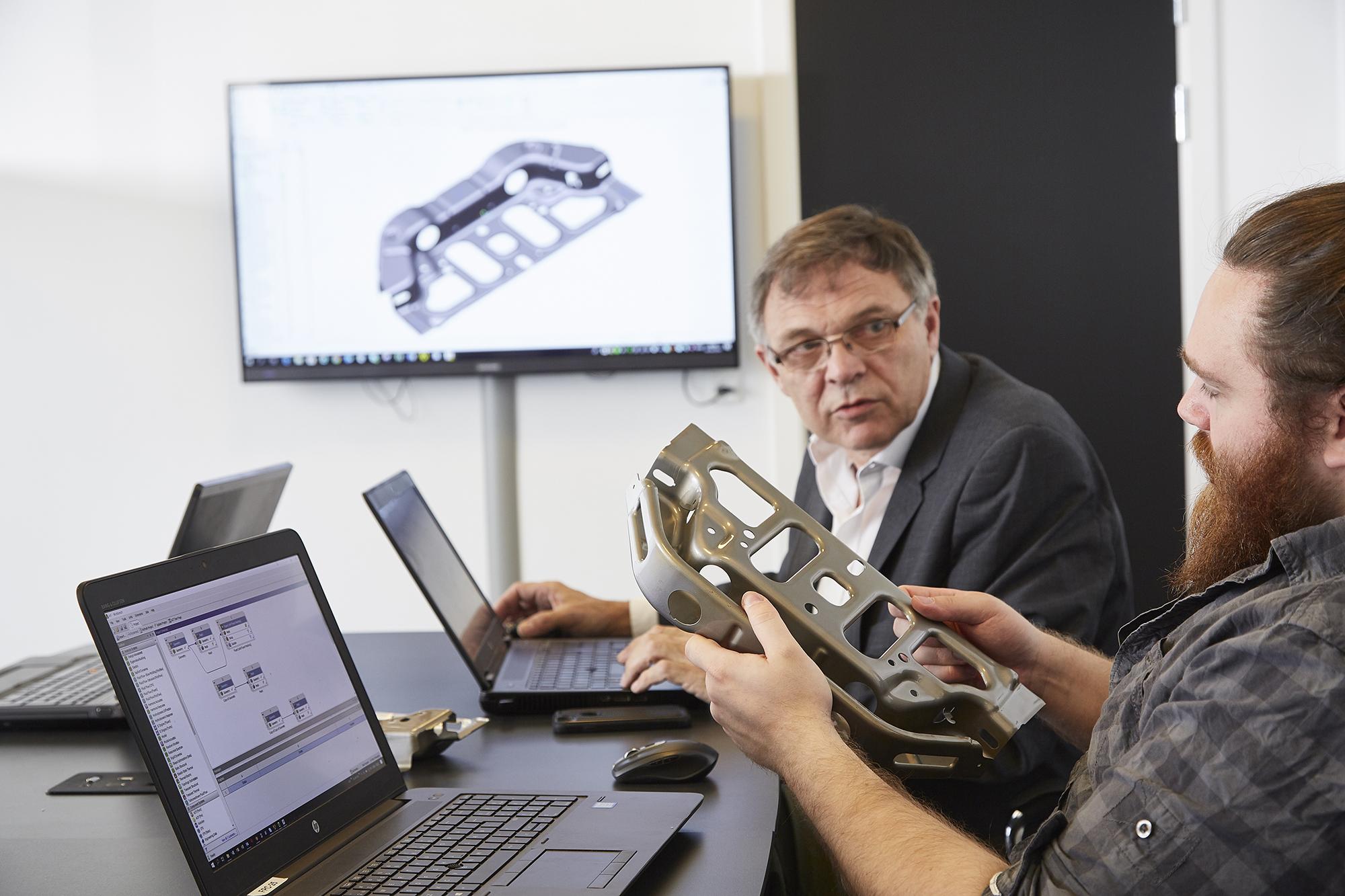 FRECON ser et stort potentiale i stålstøbte komponenter