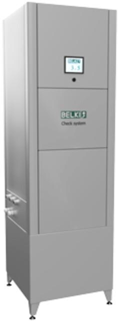 BELKI 3.0 - BELKI Check System - automatisk måling og justering af koncentrationen i kølesmøremiddelemulsionen. Mulighed for overvågning af flere væskeparametre.