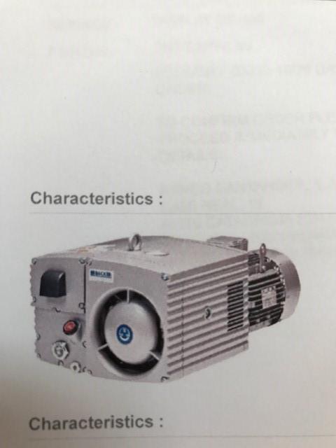 Becker vakuum pumper