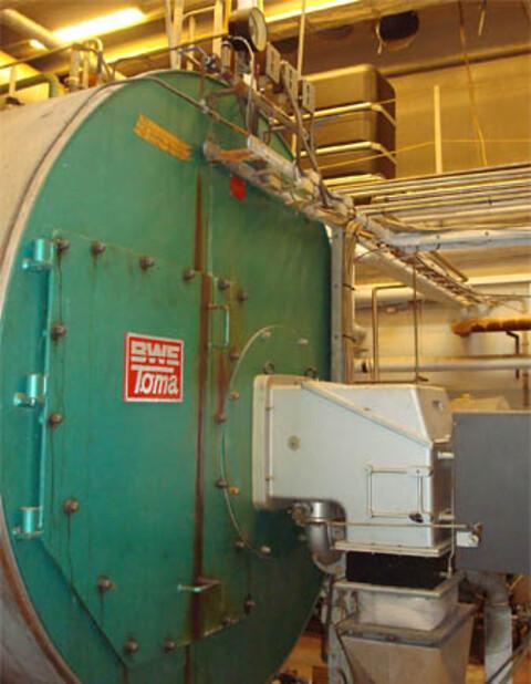Dampkedel 4000 kg/h x 10 bar
