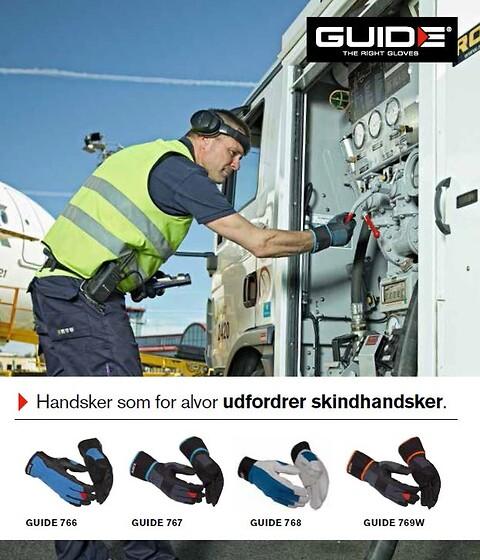 Prisbillige og stærke handsker fra GUIDE!