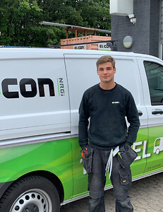 Morten Lund Andersen udlært elektriker EL:CON