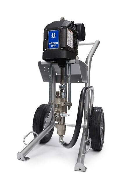 Graco e-xtreme elektrisk malepumpe fra Norclean AS