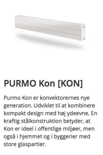 Konvektorer fra PURMO