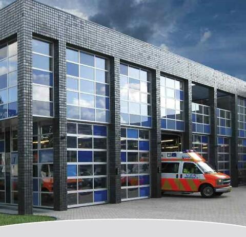 Novo Door Solutions, industriporte som er effektive og økonomisk overkommelige løsninger.