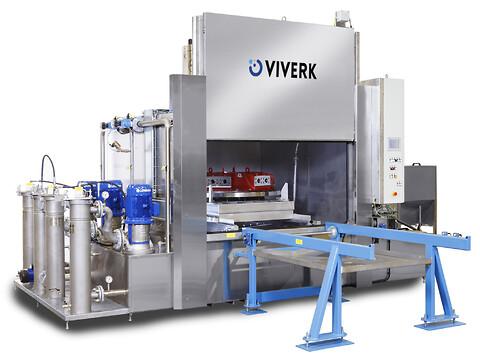 Viverk VKT Premium 2020 - Viverk VKT Premium är en modulbaserad industritvättmaskin som skräddarsys efter behov.