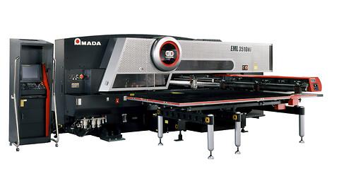 EML-3610 kombimaskin (laser / stans)