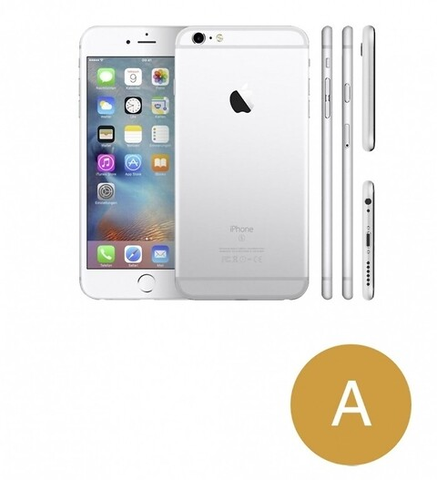 Apple iphone 6 64GB (sølv) - grade a - mobiltelefon