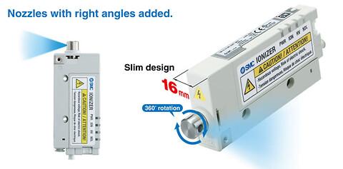 IZN10-X367 fra SMC gør eliminering af statisk elektricitet let