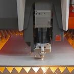 Høj skærekvalitet indtil 30 millimeter: Den nye funktion «BeamShaper» muliggør særlig skærekvalitet for stål.