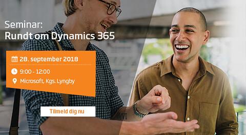 Rundt om Dynamics 365 på en formiddag