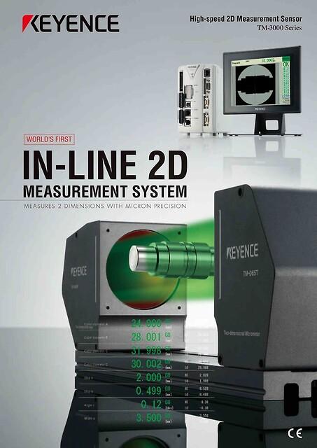 In-line 2D målesystem. Nyt målesystem som kan lave 100% profilmåling/kvalitetskontrol af emner