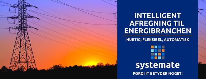 afregning til energibranchen