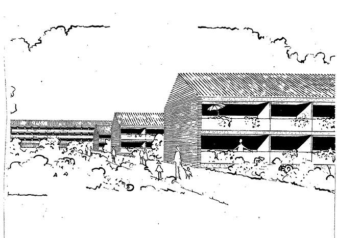 JJW Arkitekter Renovering Bæredygtighed Helhedsplan Almene boliger Landsbyggefonden BO-VEST Vridsløselille Andelsboligforening tilgængelighedsboliger bolig