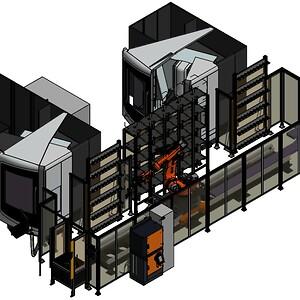 robot, automation, industriel, produktion, cnc, QRS