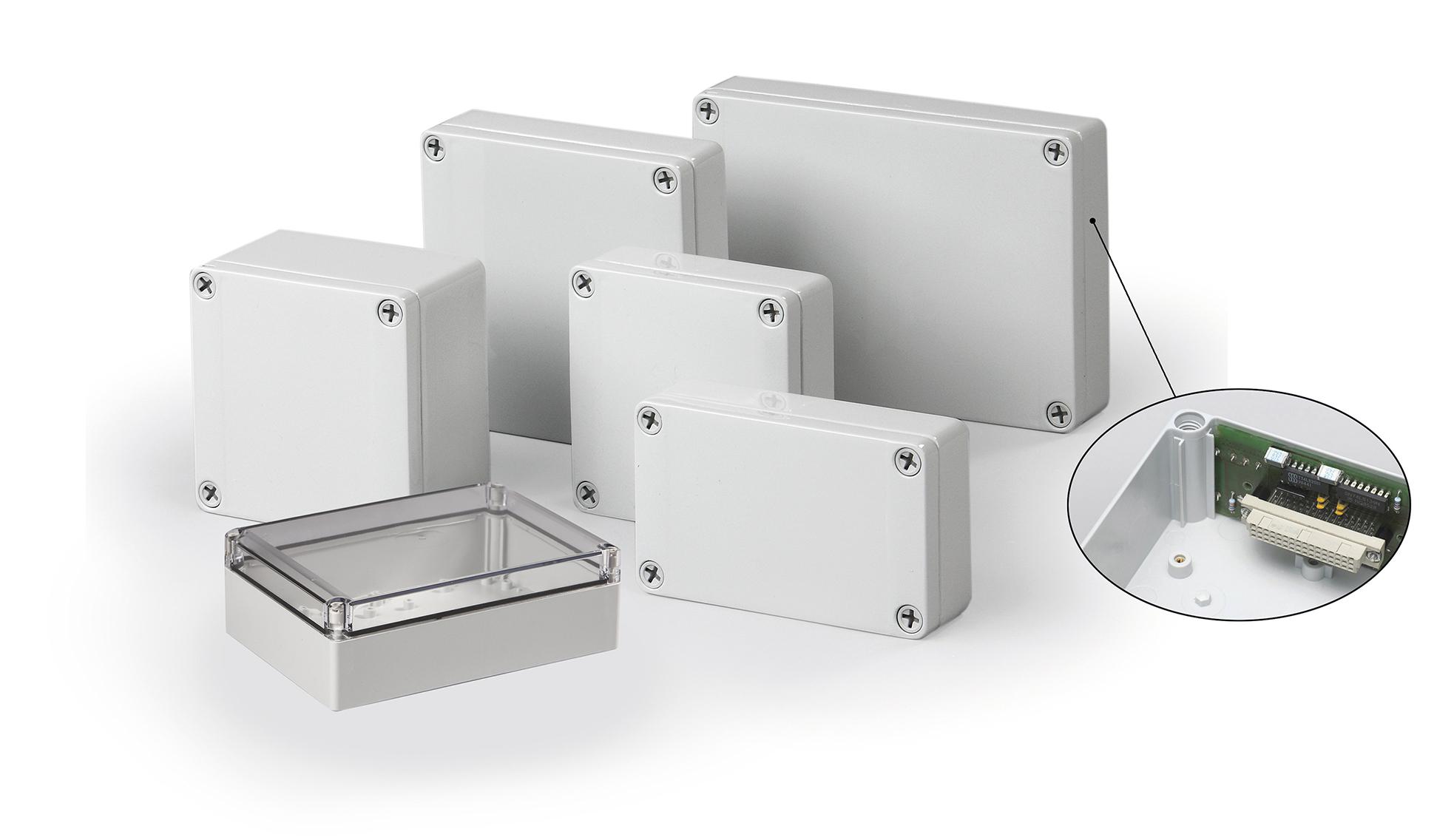 Carlo Gavazzi forhandler Ensto's Cubo S montagekasser - Electronic Supply DK