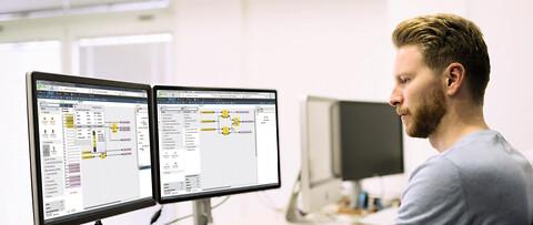 SAMOS® PLAN 6-programvara för programmering av säkerhets PLC samos® PRO Compact - Intuitiv programmering af sikkerheds PLC med SamosPLAN fra Wieland Electric