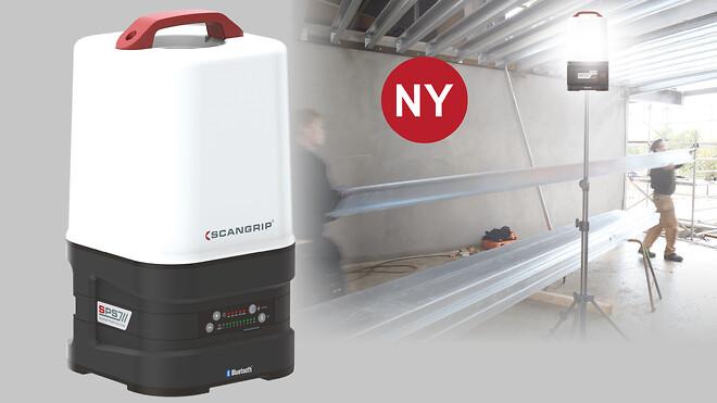 AREA 10 SPS giver et diffust og ensartet lys op til 10.000 lumen