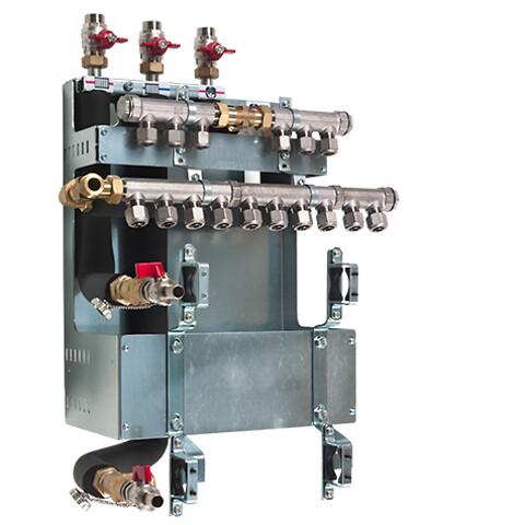 METRO Fordelerunit - til montering af væghængte systemunits