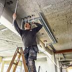 Til varmeinstallationer bruges det sømløse Alu-PEX rør Uni Pipe Plus og S-Press Plus fittings
