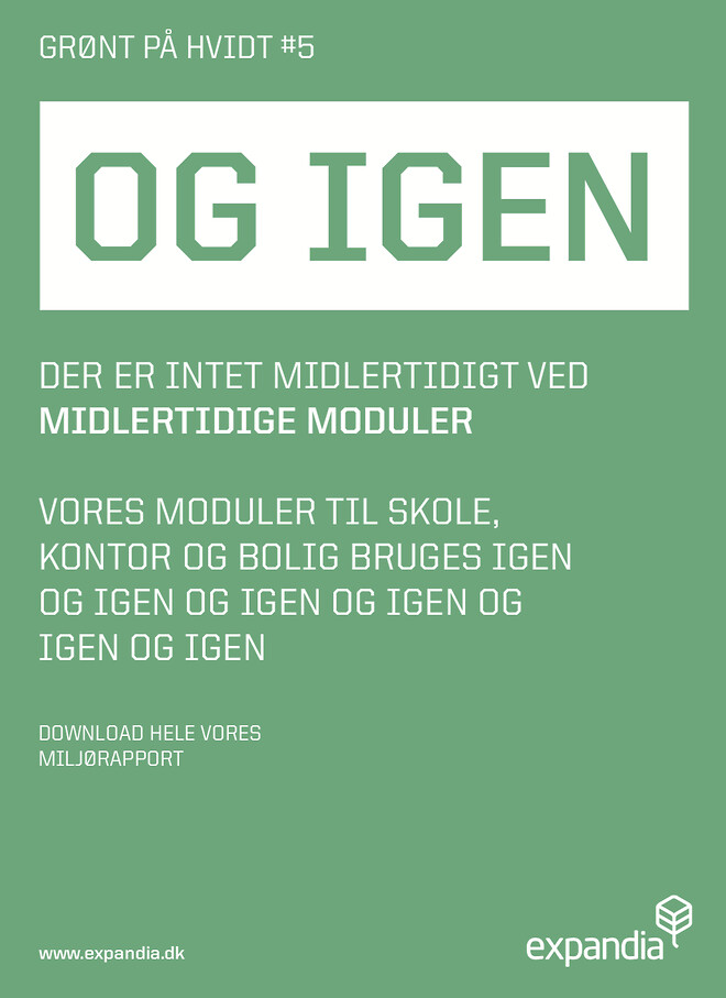 #Grønt\n#Grøntpåhvidt\n#Moduler\n#Pavilloner\n#Midlertidigt \n#Miljø\n#Tænkpåmiljøet