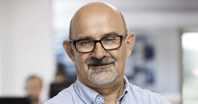 Salgsingeniør Torben Holm har 25 års jubilæum hos mt spray A/S