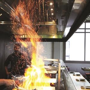 Benyttelsen af madlavningsudstyr med fast brændsel i køkkener udgør en stærkt forøget brandrisiko