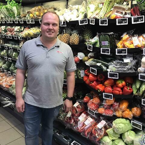 Spar Vissenbjerg løfter bruttoavancen med 4,9 %. - Sigma til frugt og grønt Spar Vissenbjerg