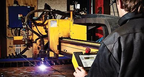Anders Pedersen Maskin- & Specialfabrik tilbyder plasmaskæring
