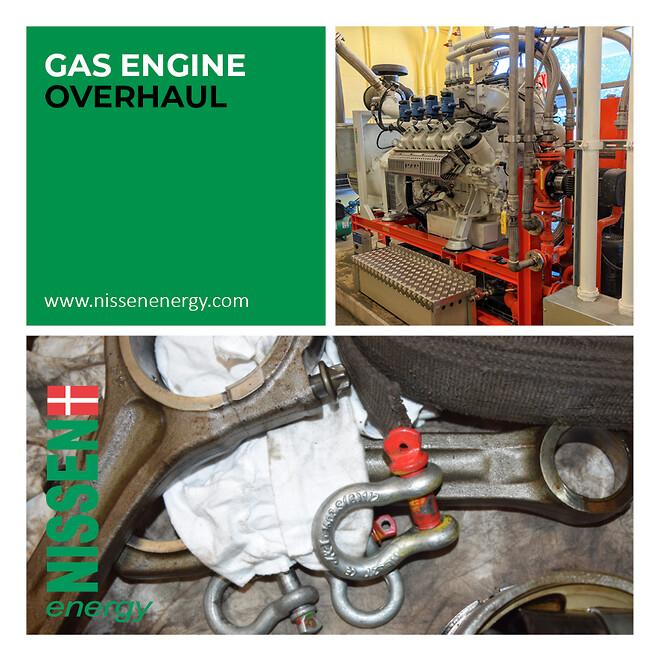 NISSEN Gasmotor renovering
