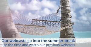 Lenzes webcast holder sommerpause