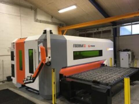 Laserskæring ved Randers Maskinfabrik.